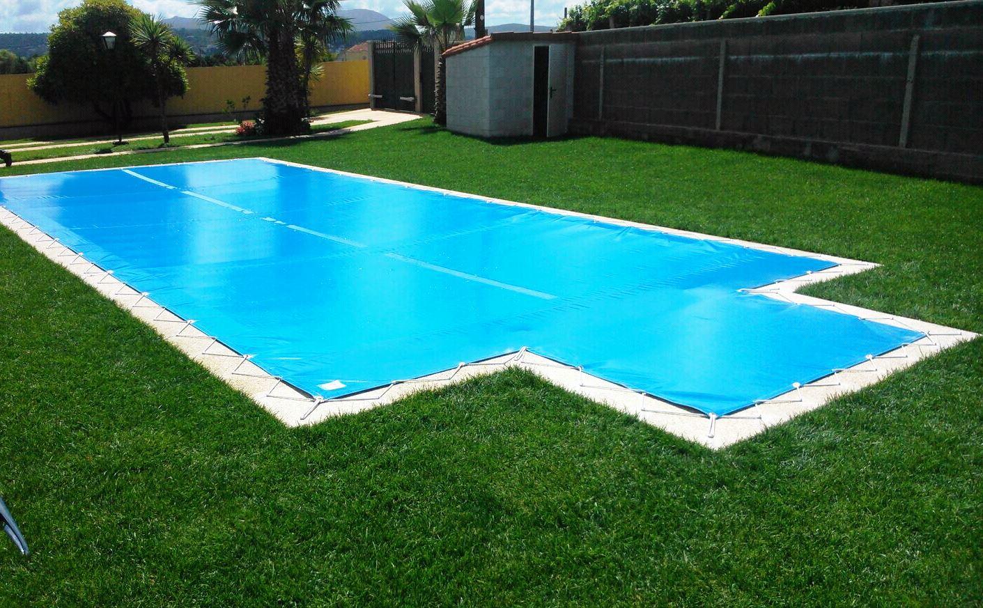 Lonas de piscina de alta calidad toldos porri o - Toldo para piscina ...