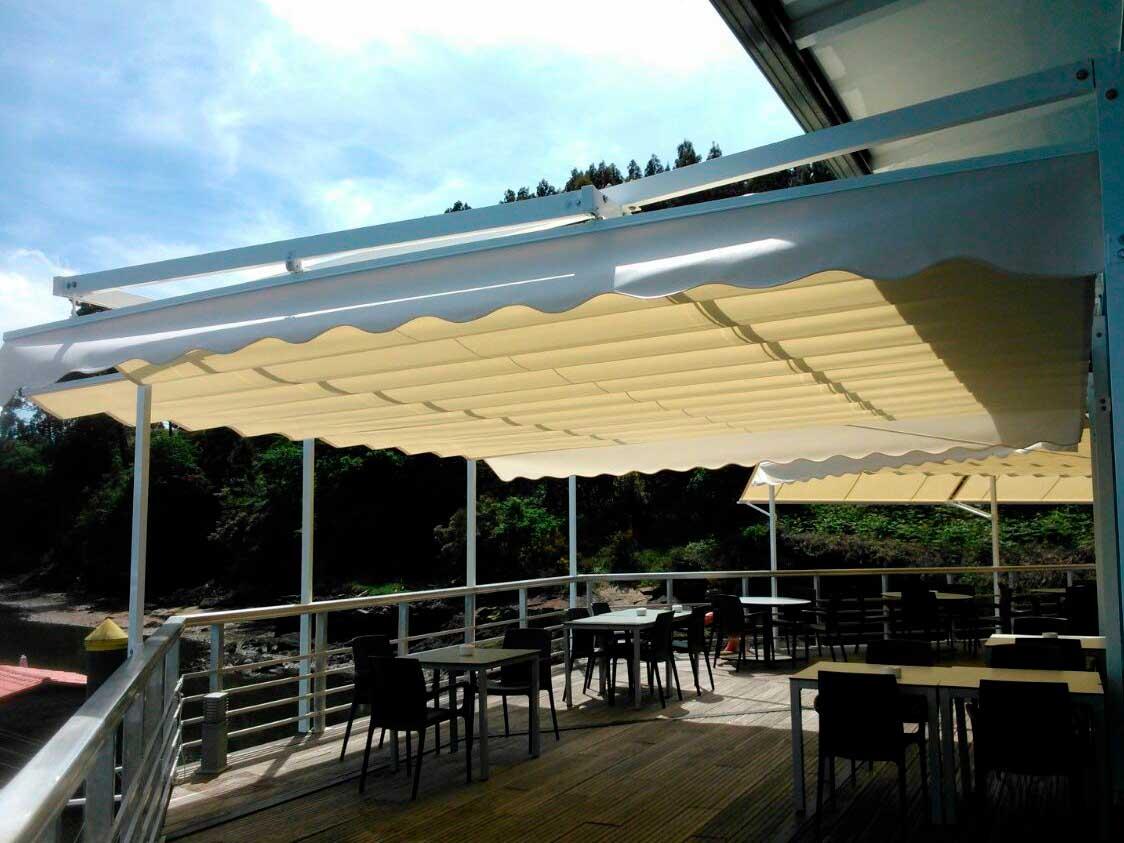 toldos de sol para proteger decorar y aislar toldos porri o