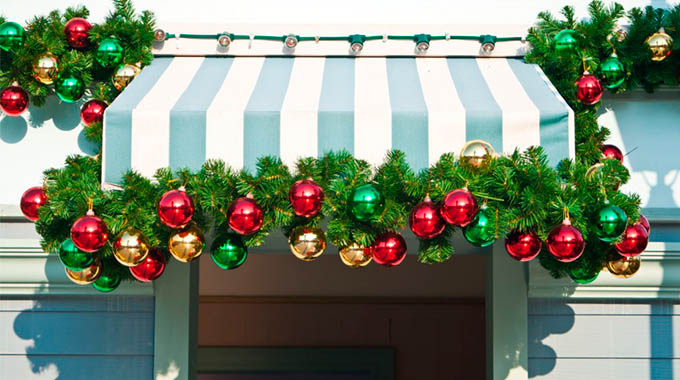 Decoración De Toldos En Navidad